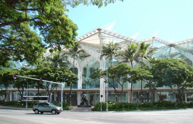 The Hawai'i Convention Center image. Click for full size.