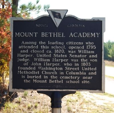 Mount Bethel Academy Marker image. Click for full size.