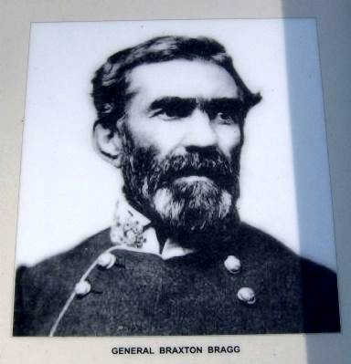 Leet's Spring and Tanyard Marker-Gen. Braxton Bragg image. Click for full size.