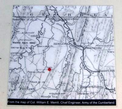 Leet's Spring and Tanyard Marker-Map image. Click for full size.