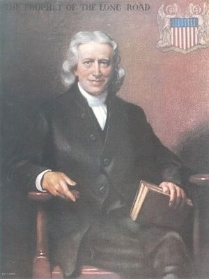 Francis Asbury, Founder of Mount Bethel Academy image. Click for full size.