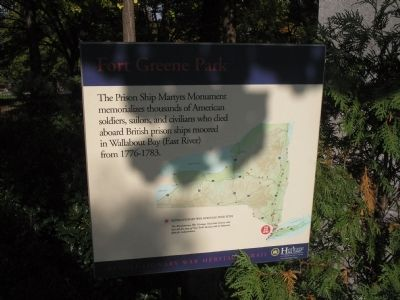 Fort Greene Park Marker image. Click for full size.