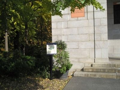 Marker in Fort Greene Park image. Click for full size.