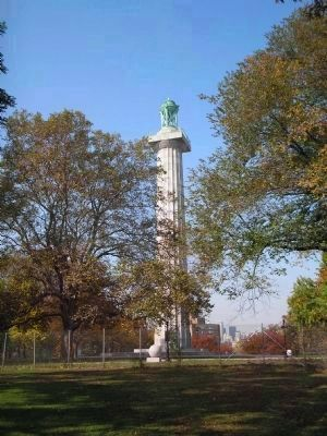 1776 - Prison Ship Martyrs Monument - 1908 image. Click for full size.