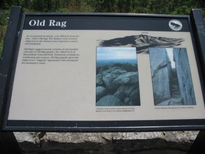 Old Rag Marker image. Click for full size.