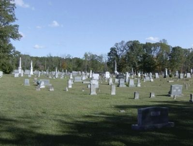 Peavine Church Cemetery image. Click for full size.