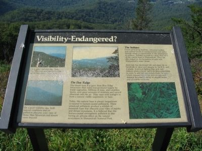Visiblity-Endangered? Marker image. Click for full size.