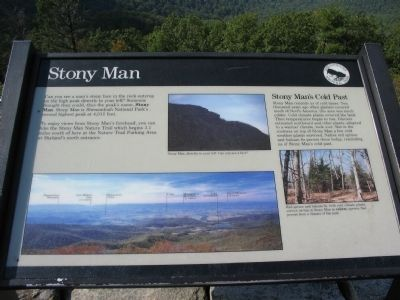 Stony Man Marker image. Click for full size.
