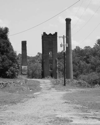 Glendale Mill Ruins image. Click for full size.