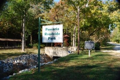 Pomaria Roadside Park and Marker image. Click for full size.