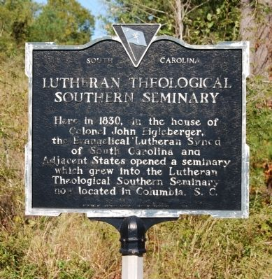 Lutheran Theological Southern Seminary Marker image. Click for full size.