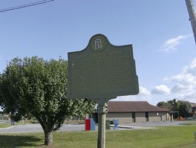 Old Tavern Road Marker-View image. Click for full size.