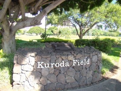 Kuroda Field Marker image. Click for full size.