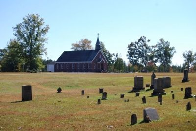 St. John's Church, 4th Building, and Cemetery image. Click for full size.