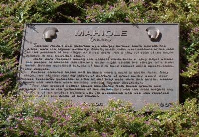 Mahiole Marker image. Click for full size.
