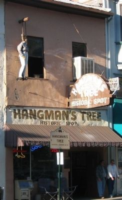 Hangman's Tree image. Click for full size.