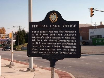 Federal Land Office Marker image. Click for full size.