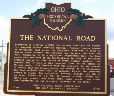 The National Road Marker (side B) image. Click for full size.