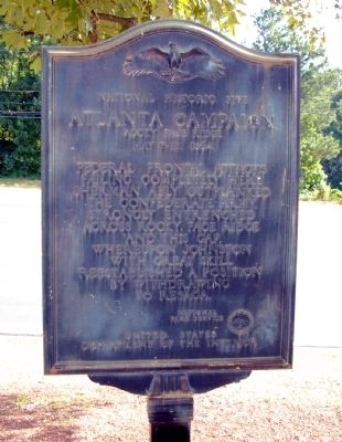 Atlanta Campaign Marker image. Click for full size.