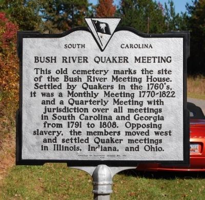 Bush River Quaker Meeting Marker image. Click for full size.