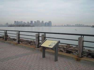 Jersey City Marker image. Click for full size.