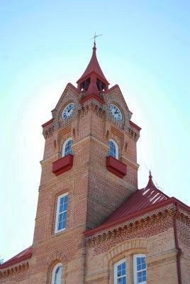 Newberry Opera House<br>Tower Detail image. Click for full size.