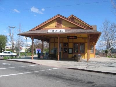 Roseville Depot image. Click for full size.