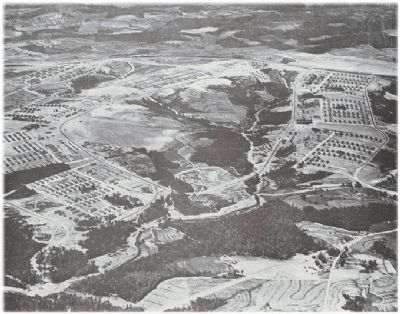 Aerial photo of the camp image. Click for full size.