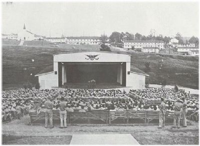 Camp Croft Amphitheater image. Click for full size.