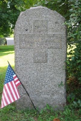 4th New Jersey Volunteers Monument image. Click for full size.