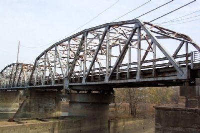 Bridge Over Muskingum River at Philo image. Click for full size.