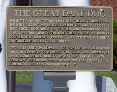 The Great Dane Dog Marker image. Click for full size.