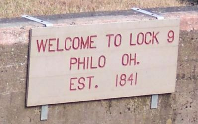 Welcome to Lock 9, Philo OH, Est 1841 image. Click for full size.