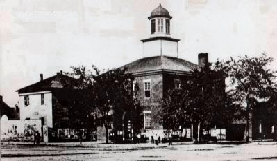 Vermilion County Courthouse and Jail - 1832 - 1872 image. Click for full size.