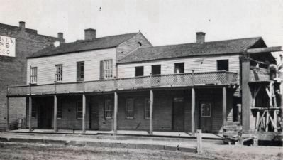 McCormack House Hotel - 1833 - 1875 image. Click for full size.