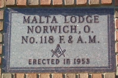"Masonic Lodge ""Cornerstone"" image. Click for full size."