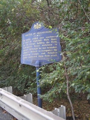 Marker on Wilmington Pike image. Click for full size.