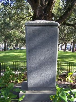 The Chatham Artillery Marker, west face image. Click for full size.