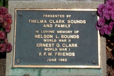 Fairmount Cemetery Flagpole Marker image. Click for full size.