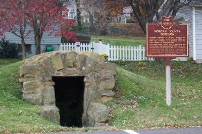 Morgan County Dungeon and Marker image. Click for full size.