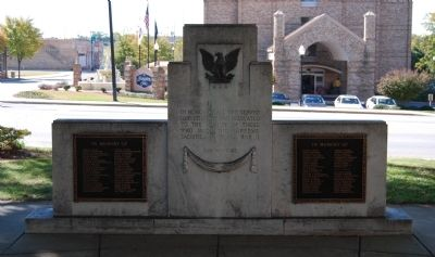 Newberry County World War II Monument Marker image. Click for full size.