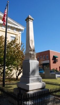 Newberry County Confederate Monument Marker image. Click for full size.