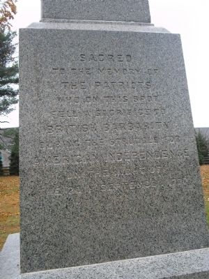 Front of the Paoli Monument image. Click for full size.