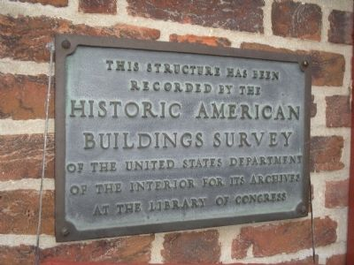 Whitall House Plaque image. Click for full size.