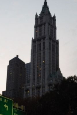 Woolworth Building (twilight) image. Click for full size.