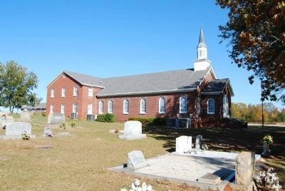 Lower Fairforest Baptist Church and Cemetery image. Click for full size.