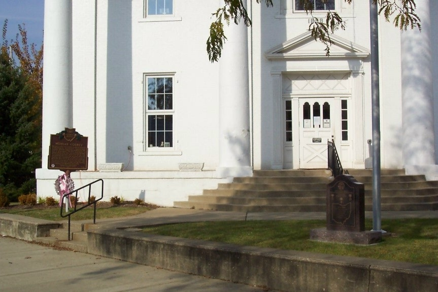 Morgan County Courthouse and Markers