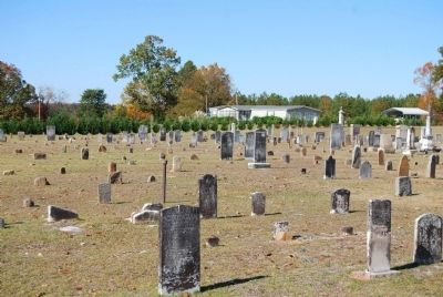 Padgett's Creek Baptist Church Cemetery image. Click for full size.
