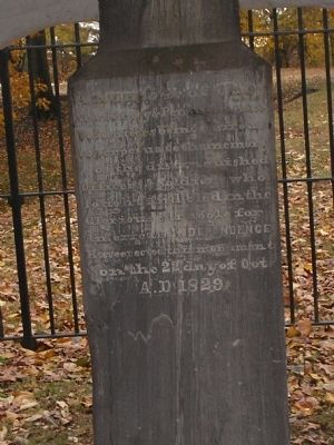 Side of Battle of Red Bank Monument image. Click for full size.