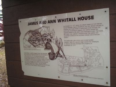 James and Ann Whitall House Marker image. Click for full size.